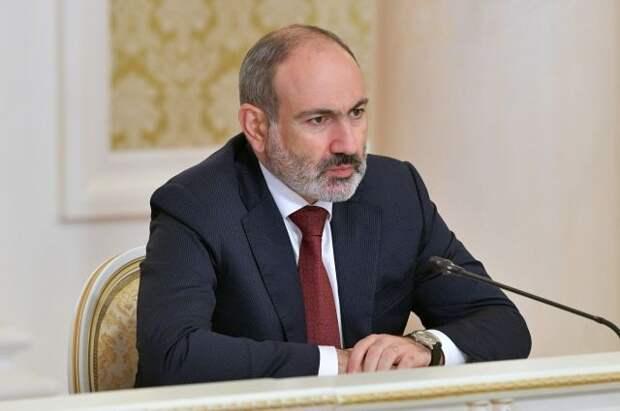 Пашинян: на границе с Азербайджаном наблюдается рост напряженности