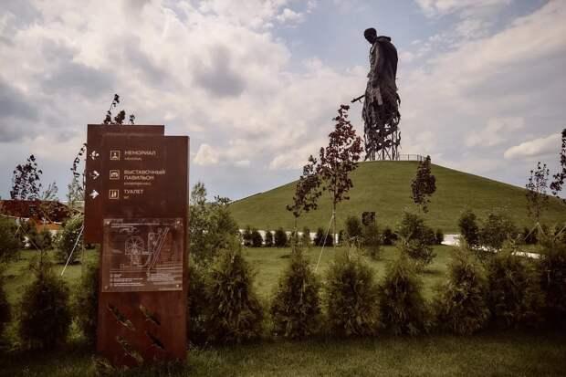 Ржевский мемориал в Тверской области посетили более 30 тысяч человек