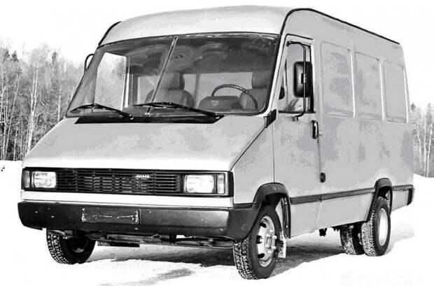 НАМИ-0267 авто, автомир, автомобили, газель, грузовик, советские автомобили, фургон