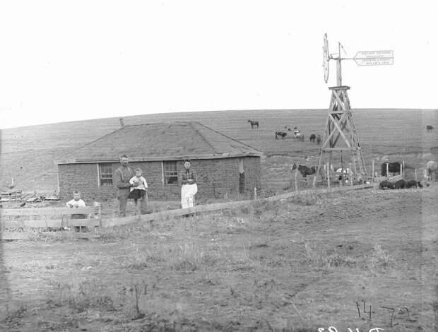 Как поднималась американская целина. Архивные фотографии пионеров Великих равнин конца 19-го века 28