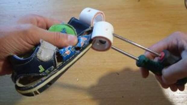 Использование струбцины прищепки в работе