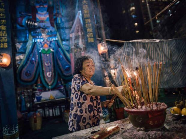 Седьмой месяц лунного календаря в Китае называется «месяцем призраков».