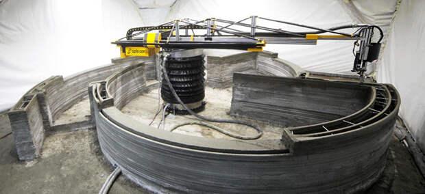 Первый в России дом, напечатанный на 3D-принтере новые технологии, строительство