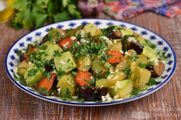 Готовим овощи, готовим с радостью!