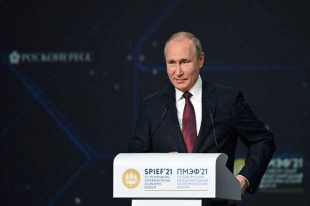 Путин объявил о завершении укладки первой нити «Северного потока — 2»