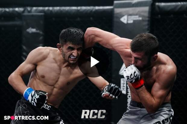 RCC INTRO 17   HIGHLIGHTS   Хайрулла Магомедов, Россия vs Жасурбек Жолдошев, Кыргызстан