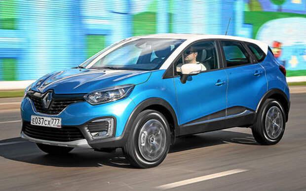 Тест Renault Kaptur CVT: проверка на вариативность