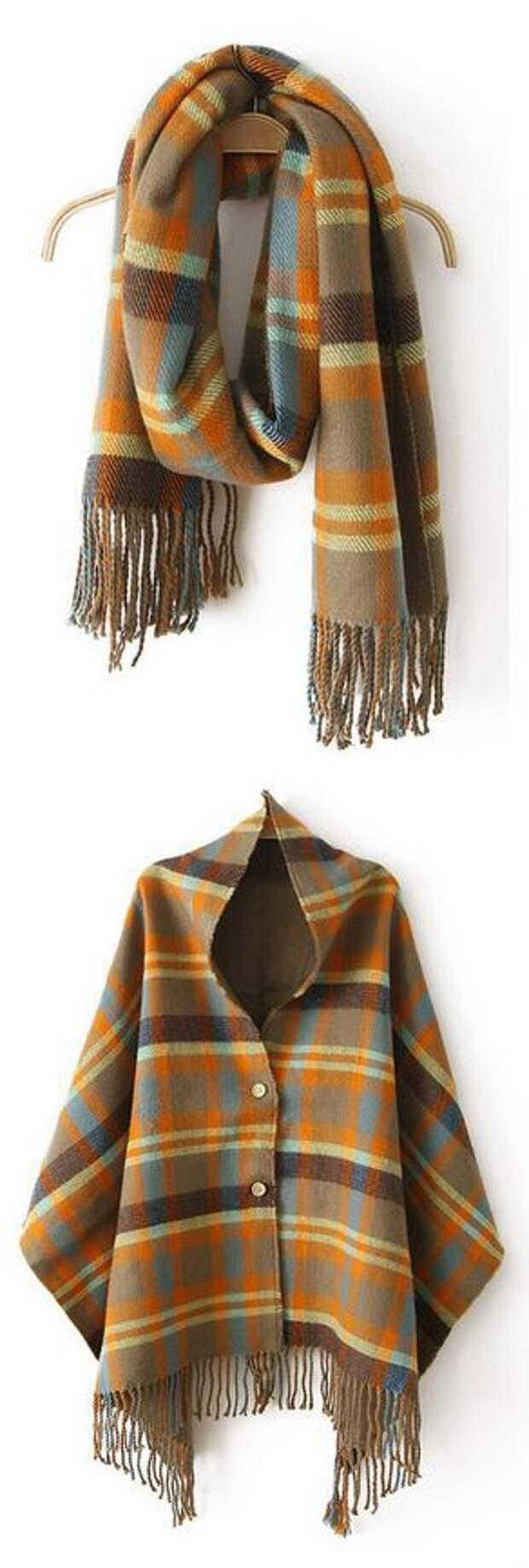 Необычные шали (подборка)