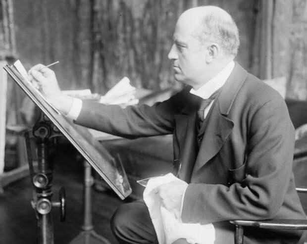 Чарльз Дана Гибсон (Wikimedia / George Grantham Bain Collection / Library of Congress)