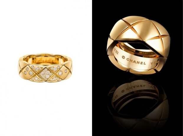 обручальные кольца шанель