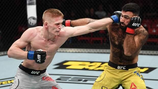 Хандожко подерется на турнире UFC 27 июня
