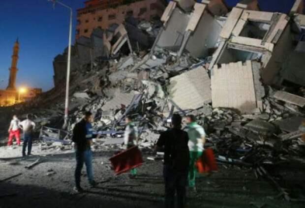 Минздрав Палестины обновил число жертв израильских ударов вГазе