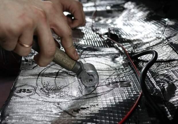 Сделал шумоизоляцию на своей lada Granta Cross - что изменилось + мнение о работе мастеров