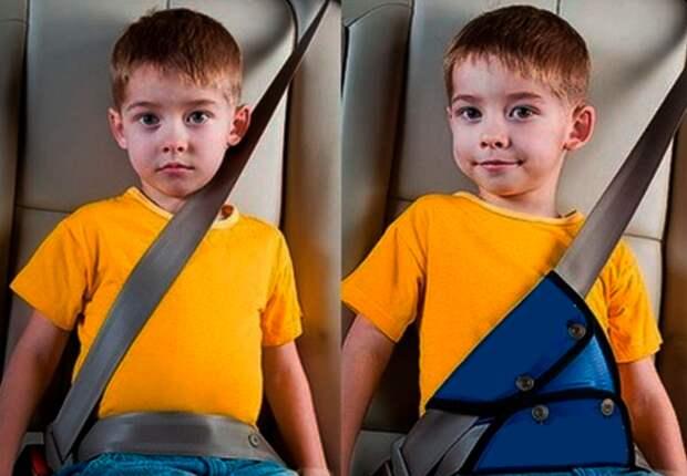 детские адаптеры ремня безопасности: законны или нет?