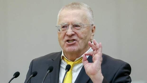 Жириновский заявил о девственной чистоте ЛДПР
