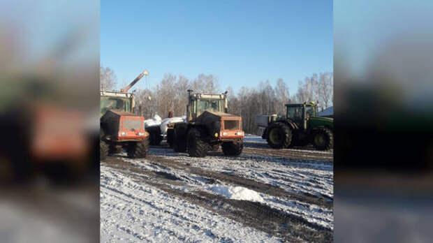 Весенне-полевые работы стартовали в Томской области