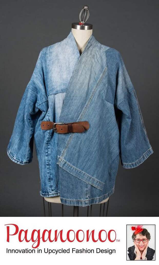 Джинсовые пэчворк пальто (подборка)