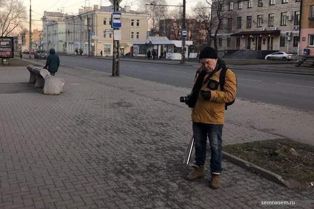 Карельского блогера задержали из-за акции в поддержку ветеранов и борцов за снос «Невского пассажа»