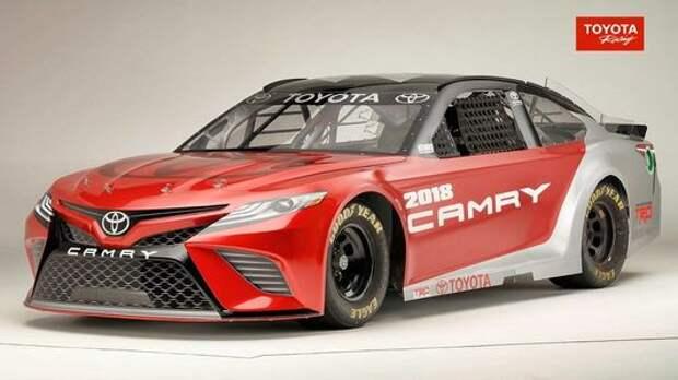 Тоже Camry: Toyota показала модель для жестоких боев