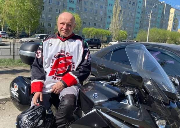 «У самурая нет цели, только путь»: омский врач устроил мотопробег в честь «Авангарда»