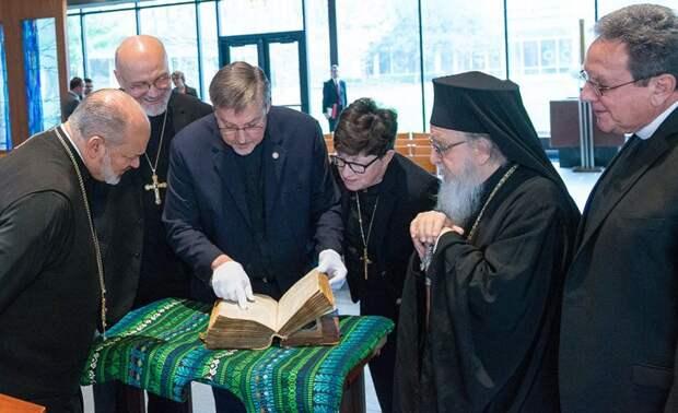 В Грецию из США возвращается уникальная библия украденная в годы первой мировой войны