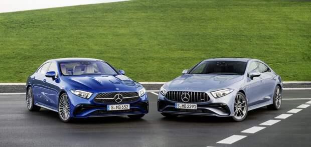 Европейские дилеры компании Mercedes-Benz начали принимать заказы на рестайлинговую версию «четырехдверного купе» CLS