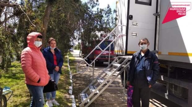 Минздрав РК: В Ленинском районе в рамках нацпроекта «Здравоохранение» проходит акция «Поезд здоровья»