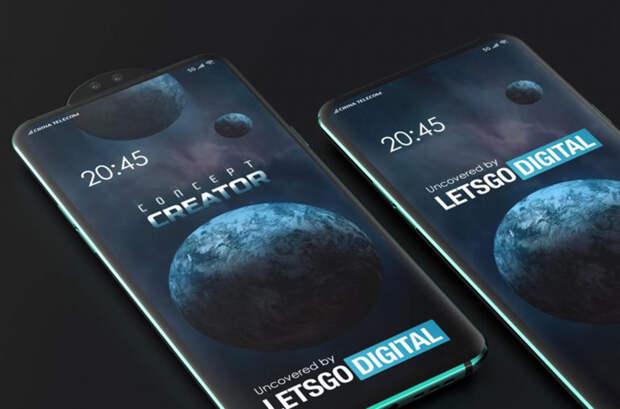 Xiaomi запатентовала смартфон с вращающейся камерой