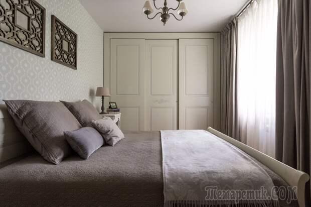 Уютный прованс для троих в панельном доме
