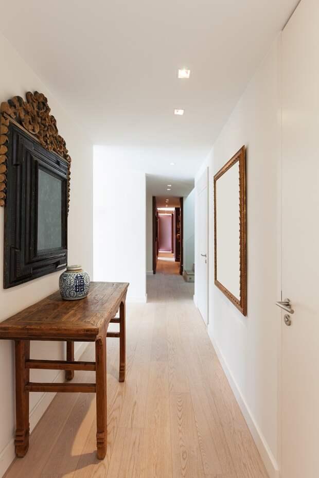 дизайн коридора и всей квартиры