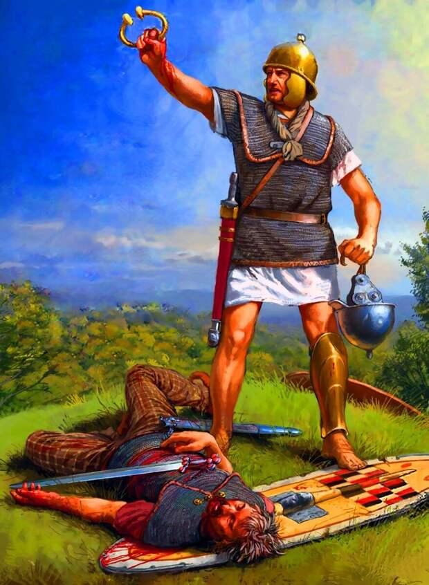 Боевые награды в армии Древнего Рима