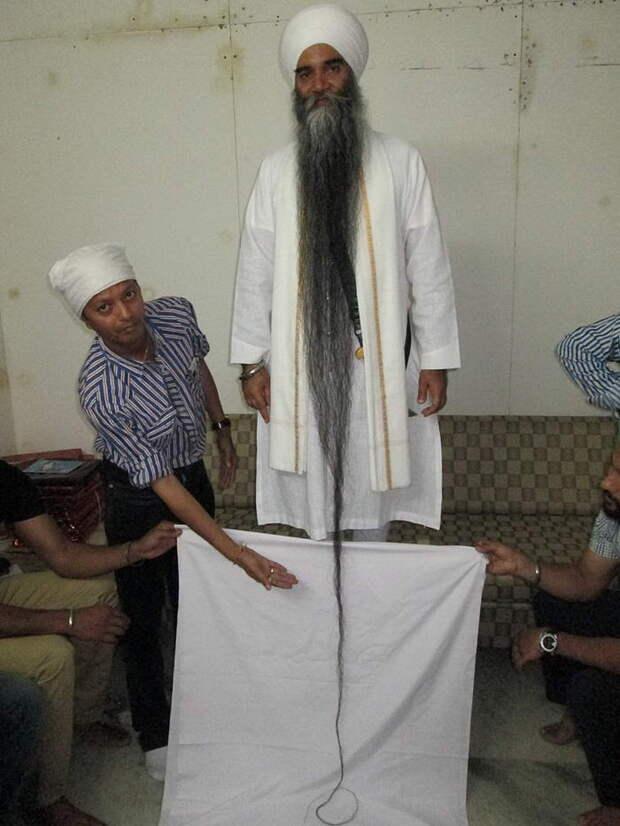 2. Самая длинная борода.