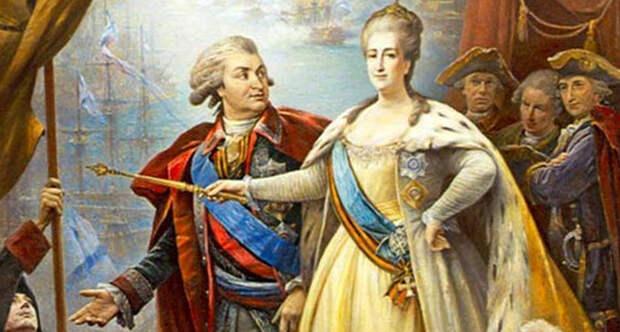 Екатерина и Потемкин