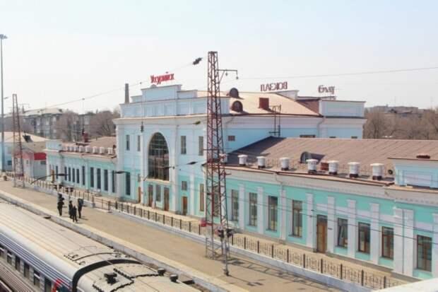 В здании вокзала Уссурийска прошла дезинфекция залов