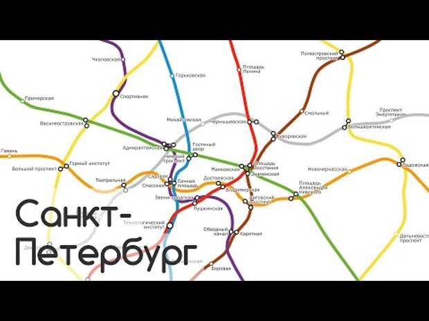 Как быстро строят метро в России, ОАЭ и Китае? Петербуржец показал это с помощью анимации :metro: