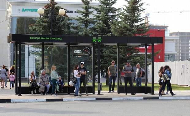 Новые остановки в Ижевске увеличат по площади
