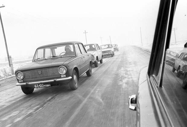 Испытания легковых автомашин ВАЗ-2101 - РИА Новости, 1920, 04.09.2020