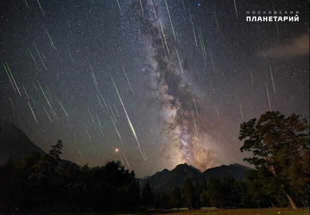 Жители Кубани смогут увидеть звездопад Персеиды