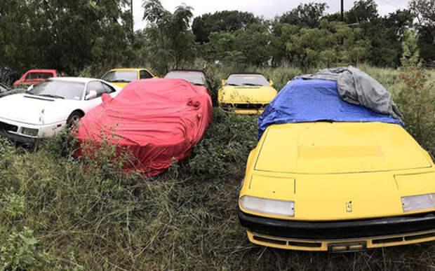 Кладбище забытых Ferrari - грустная история коллекционера