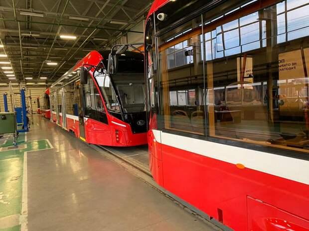 Перед выпуском на линию новые трамваи в Ижевске пройдут опытную обкатку