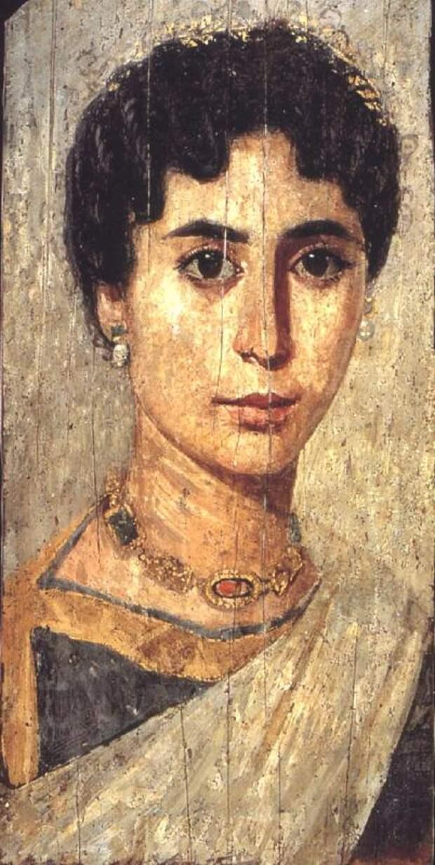 Фаюмский портрет Гипатия