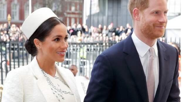 Букингемский дворец отказался поздравлять принца Гарри и Меган Маркл с годовщиной свадьбы