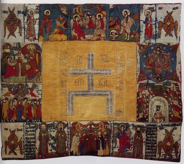 Праздники и святые. Пелена. 1499 г. Вклад великой княгини Софьи Палеолог