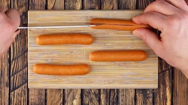 Картинки по запросу Праздничные закуски в последнюю минуту: запасаемся сосисками.