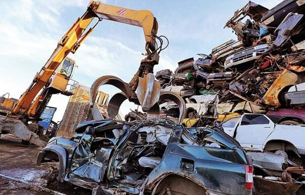 Сдать машину в металлолом оказывается выгодней, чем продать