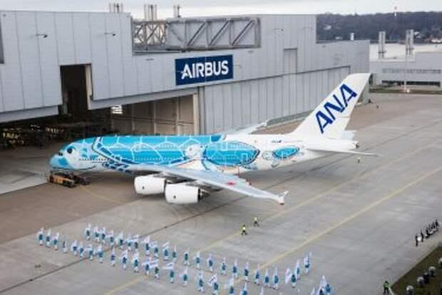 Airbus A380-841 для авиакомпании All Nippon Aiways