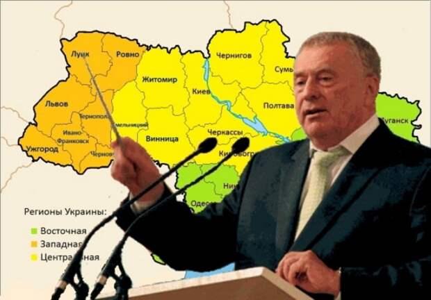 Разделив нынешнюю украинскую территорию на два государства из западноукранских областей и регионов Новороссии, проблема...