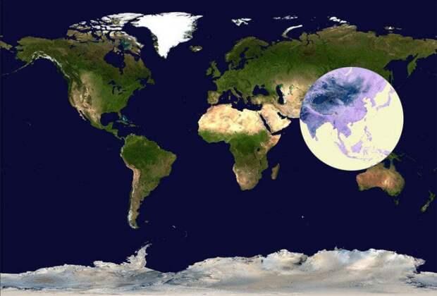 Карты, которые перевернут ваше представление о мире