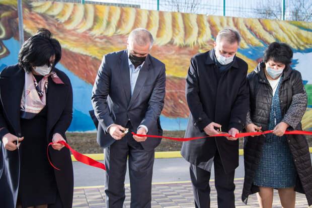 В Евпатории открыли детский сад «Лучик» на 100 мест