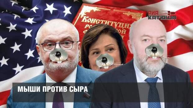 """Править конституцию РФ будут """"спящие"""" во власти"""